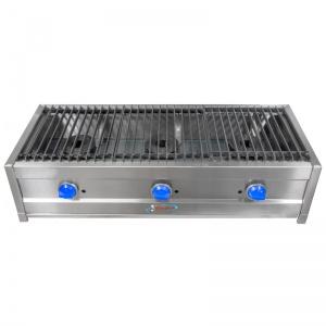 Parrilla a Gas Compacta 2 quemadores LunchMaster 3