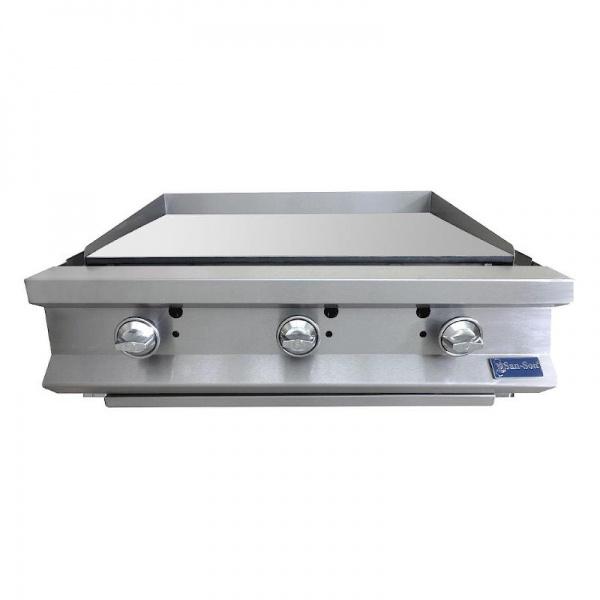 Plancha a Gas Industrial de Cocina Sanson ECOSP-36 Especificaciones