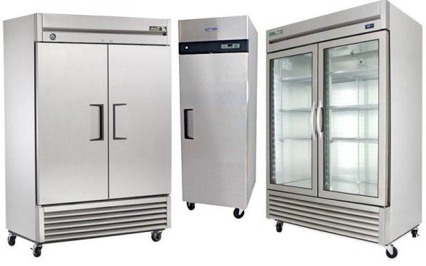 Refrigeradores Industriales de acero inoxidable