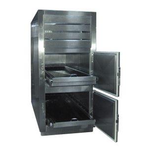 Refrigerador para Cadaveres RCS-2P-F de 2 Cuerpos de apertura frontal
