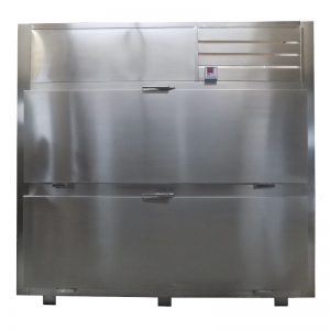 Refrigerador para Cadaveres RCS-2P-L de 2 Cuerpos de apertura frontal