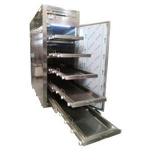 Refrigerador para Cadaveres RCS-5P-F DE 5 Cuerpos de apertura frontal