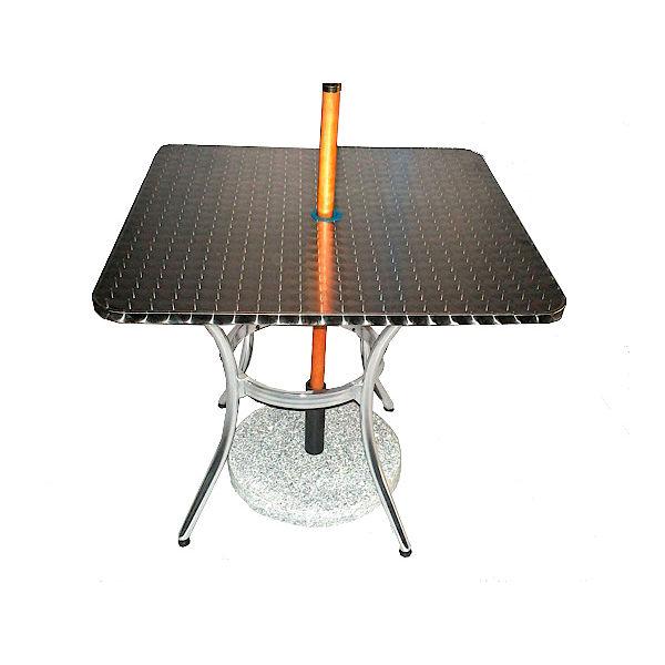 Mesa de Acero para Sombrilla SSC04-80-TB11B para restaurante y terraza