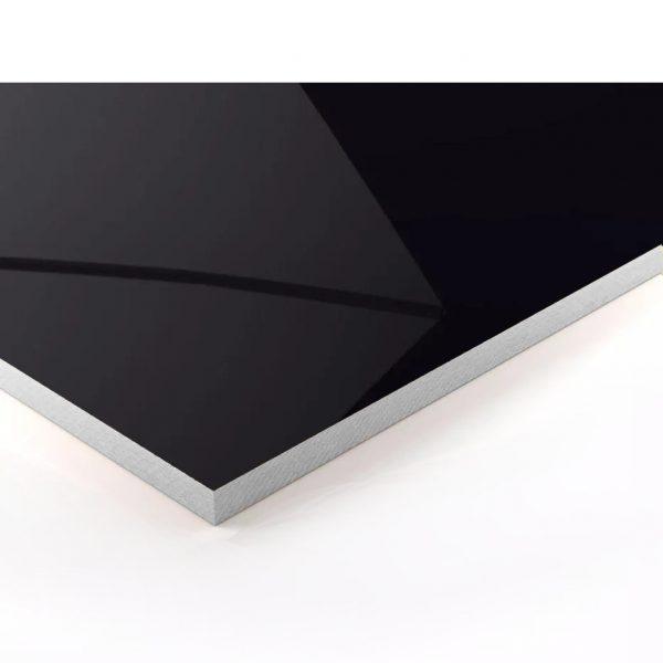 Mesa para restaurante chrome detalle negra