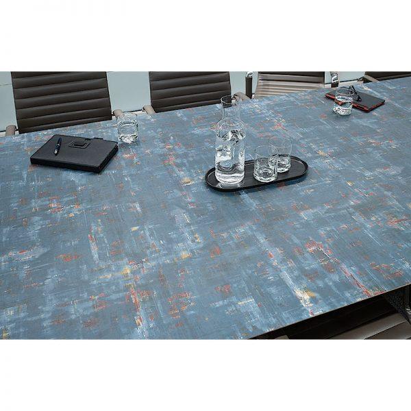 Mesa para Restaurante Canto de Madera Scrape-BLH2