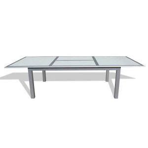 Mesa de Aluminio Extensible ALC-320 para Restaurante y Exteriores