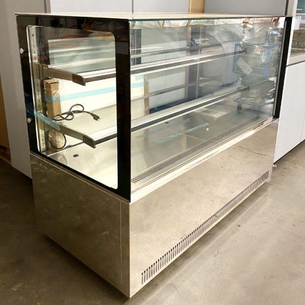 Vitrina Refrigerada Cristal Recto SE-GN-1500R2 para Pasteles