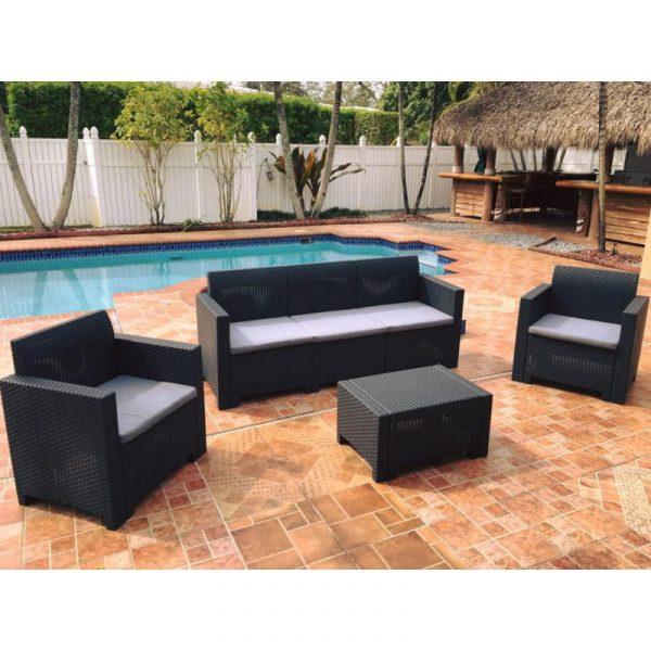 Set Lounge para Exteriores Cafu 5