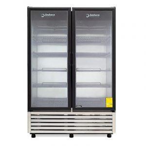 Congelador A-Inox Puertas de Cristal VFD43INX